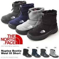 THE NORTH FACE (ノースフェイス) Nuptse Bootie Wool III Sh...