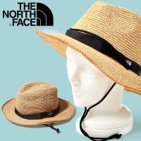 麦わら帽子 ハット THE NORTH FACE ザ・ノースフェイス Raffia Hat メンズ レディース 日差し対策 ヤシ科の天然素材 サファリハット nn01554