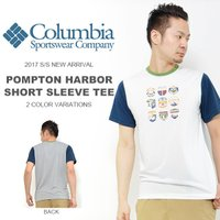 コロンビア(Columbia)POMPTON HARBOR Short Sleeve Tee(ポンプ...