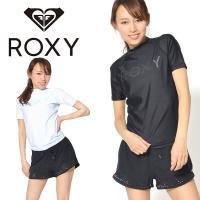 ロキシー(ROXY)ラッシュガード  紫外線対策に備えておきたいショートスリーブのラッシュガード。 ...