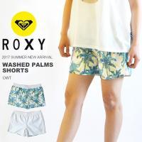 ROXY(ロキシー)WASHED PALMS SHORTS(ボードショーツ)婦人・女性用  気分によ...