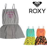 ロキシー(ROXY) ワンピース  夏を連想させるキャミソールドレス。 一枚で着てもレイヤードで重ね...