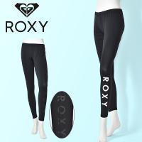ロキシー(ROXY) ラッシュ レギンス  サイドのロゴプリントが可愛いスタンダードなデザインのラッ...