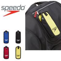 speedo(スピード) キャリングポーチ になります。  バッグなどにかけられるように上部にはフッ...