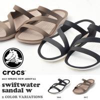 crocs swiftwater sandal w クロックス スウィフトウォーター サンダル ウィ...