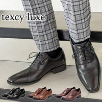 スニーカーのような履き心地 本革 ドレス ビジネスシューズ アシックストレーディング ASICS 紳士靴 メンズ 3E レザー texcy luxe