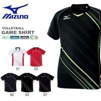 ミズノ(MIZUNO) ゲームシャツ(バレーボール) になります。  メンズ・レディース・男女兼用 ...