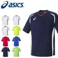 asics(アシックス)ゲームシャツHS になります。  メンズ・男性 シンプルなデザインのサッカー...