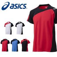 asics(アシックス)ゲームシャツHS になります。  シンプルなデザインのバレーボールゲームシャ...