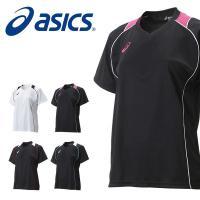 asics(アシックス)W'SプラシャツHS になります。  シンプルなデザインのウィメンズ半袖プラ...