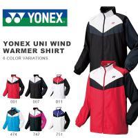 YONEX UNI WIND WARMER SHIRT ヨネックス ユニ ウインド ウォーマーシャツ...