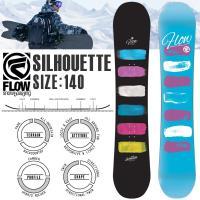 FLOW(フロー)スノーボード 板 2014-15 14-15 Silhouetteはハイブリッドサ...