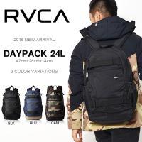 RVCA(ルーカ)バックパック 定番のルーカバックパック 容量は約18リッター。 U字型のメインジッ...