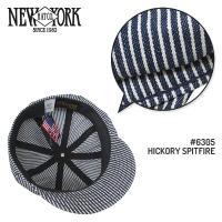NEW YORK HAT[ニューヨークハット] ヒッコリー キャスケット HICKORY SPITFIRE #6305
