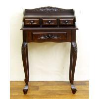 ■商品概要   飾り彫りは、鍛錬された職人による手仕事です。 通常の机のようにもご利用頂けますが、オ...