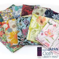 花、植物、庭園やリボン、絵具などをモチーフにした独創的デザインリバティプリントを使った日本製クロス。...