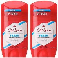 オールドスパイス Old Spice ハイエンデュランス フレッシュ デオドラント スティック 男性用 制汗剤 63g 2個セット