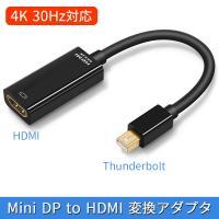 Mini DisplayPort ミニディスプレイポート to HDMI 変換アダプター 1080P Surface Pro 6 対応