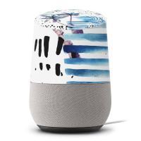 Google Home 専用 貼るだけ簡単 オシャレなデザインスキンシールGoogle Home ...