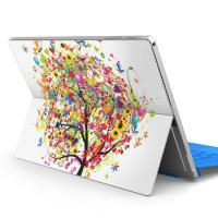 Surface Pro 4 専用 貼るだけ簡単 オシャレなデザインスキンシール 気泡になりにくい3M...