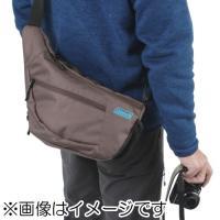 エツミ CO-8717 コールマン カメラショルダーバッグ ブラウン・ブルーライン