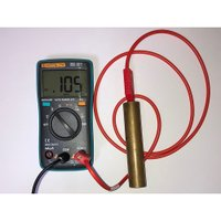 本測定器キットは身体の帯電レベルを測定するために 開発されました。 付属のハンド測定プローブで身体電...
