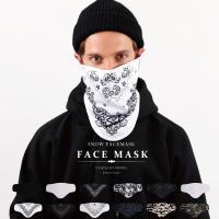 ゲレンデのハードな紫外線をカット!必需品ですフェイスマスク!  こんなところが支持されてます!   ...