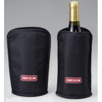 いいもの見つけた!氷を使わないワインクーラー。ワインクーラーカバー ブラック NV-WCB   氷を...