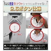 ワイシャツ 長袖 ドレスシャツ 3枚組 Aセット