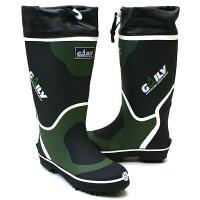 金属ピンスパイク底の長靴です。 山林の不整地などでの作業に適しています。 乾きが早い速乾吸汗裏布  ...