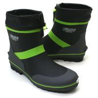 脱ぎ履きしやすいショートラバーブーツです。 乾きが早い速乾吸汗裏布 幅はEE  【サイズ比較】 S/...