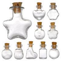 単品 選べる10種 ガラス小瓶 コルク瓶 【ゆうパケット対応】