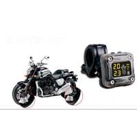 ミニサイズタイヤ空気圧監視 TPMS タイヤ モニター バイク2輪車対応  空気圧 センサー 温度 防水カバー付き