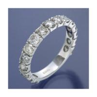 K18WG [再販ご予約限定送料無料] ダイヤリング 指輪 商工会会員店です 11号 店舗 2ctエタニティリング