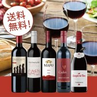 【送料無料】RC1-1 BEST SELLER RED WINE 5BTLS SET [750ml ...