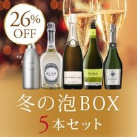 【送料無料】UP11-1 WINTER SPARKLING BOX 5BOTTLES SET [75...