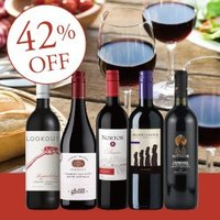 【送料無料】RC11-2 BEST SELLER RED WINE 5BTLS SET [750ml...