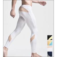 伸縮性と保温性に優れたメンズタイツです。 体にフィットするストレッチ素材で、 パンツの下に着ると寒さ...