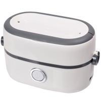 蒸気の熱で、お茶碗2杯分のご飯を美味しく炊ける弁当箱のような小型の炊飯器 【製品仕様】 ・サイズ(約...
