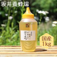 はちみつ 国産 特選アカシア蜂蜜 1kg TA1000 坂井養蜂場 蜂蜜 アカシア 純粋 無添加 ギフト