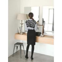 フォーマルブラウス レディース シャツ 長袖 レース配色 30代 40代 50代 ファッション