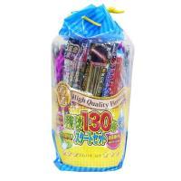 ボリュームたっぷりの手持花火セット。点火キャンドル、ペーパーバケツ、ゴミ袋、お子様に、より安全に花火...