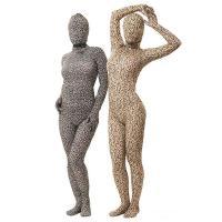 【仕様】 男女兼用 背中ファスナー 首から上はタイツと別々 サイズ/Mサイズ=身長〜165cmくらい...