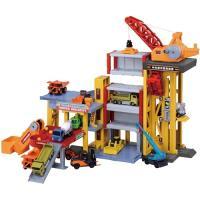 トミカタウンビルドシティ パワークレーン建設現場  おもちゃ こども 子供 男の子 ミニカー 車 くるま 3歳