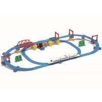 プラレール かっこいいがいっぱい! 新幹線 N700S確認試験車 立体レイアウトセットおもちゃ こども 子供 男の子 電車 3歳
