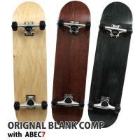 【送料無料】ORIGNAL BLANK COMP オリジナル コンプリート スケートボード スケボー 完成品 7.75インチ