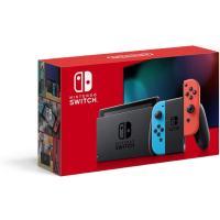 ラッピング無料 任天堂 ニンテンドースイッチ Nintendo Switch (L)ネオンブルー/(R)ネオンレッド バッテリー強化版