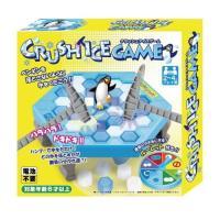 ペンギンを落とさないようにハンマーで氷を砕く、パズル&バランス知能ゲーム!どの氷を落とすかが勝負の別...