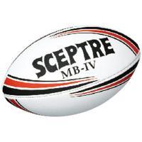 セプター(SCEPTRE) MB‐IV ジュニアレースレス SP-914 ブラック×レッド ラグビーボール プラクティス用 小学生 トレーニング