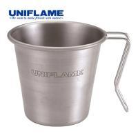 ユニフレーム(UNIFLAME) マグカップ スタッキングマグ350 チタン 666104 アウトドア コップ キッチン用品 バーベキュー BBQ